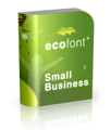 Ecofont Small Business - 1 lifetime license