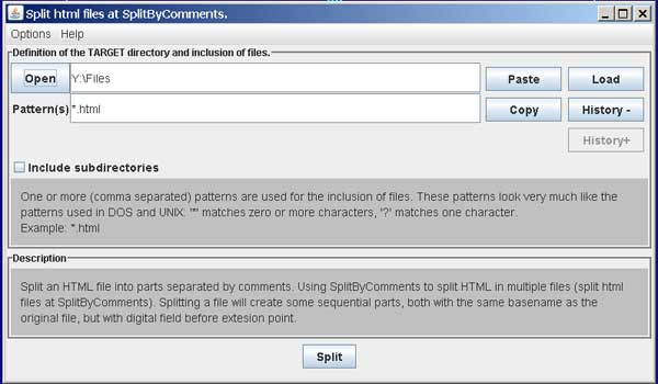 Click to view SplitByComments screenshots
