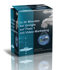 Platz 1 auf Google mit Video-Marketing - Video-Kurs Screen shot