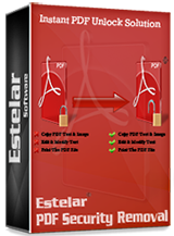 Click to view Estelar PDF Security Removal - Business - 10 Users screenshots