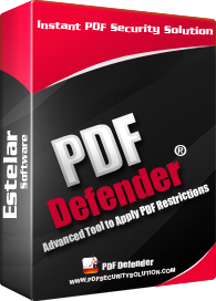 Click to view Estelar PDF Defender Software - Enterprise Lincense screenshots