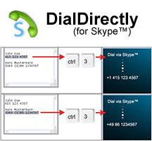 Click to view DialDirectly (for SkypeTM) - Business (10 PCs) screenshots
