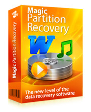 Magic Partition Recovery Home Edition Screen shot