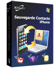 Xilisoft Sauvegarde Contacts iPhone Screen shot