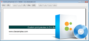Click to view C++ Builder custom print preview example screenshots
