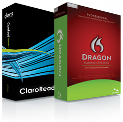 Click to view Dragon NaturallySpeaking Professional V11.5 and ClaroRead Standard: UK DVD Edition - Educational screenshots