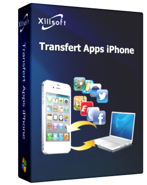 Xilisoft Transfert Apps iPhone Screen shot