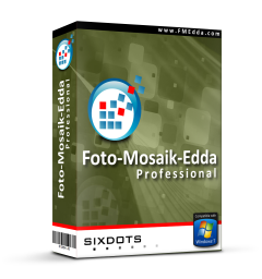Foto-Mosaik-Edda Professional Screen shot