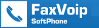 Fax Voip SoftPhone Basic License (Voice, Fax, Playing, Recording, RND)