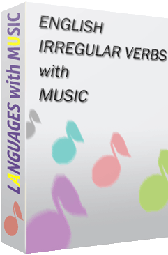 English Irregular Verbs with Music Screen shot