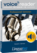 Voice Reader Studio 15 GED / Deutsch/German
