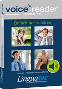 Voice Reader Home 15 Deutsch - Mannliche Stimme [Markus] / German - Male voice [Markus]