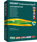 PROMT Professional 10 365 Gigant (1 Jahr, 1 PC) Screen shot