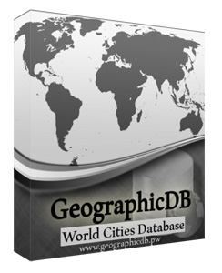 GeographicDB - Basic Edition Screen shot