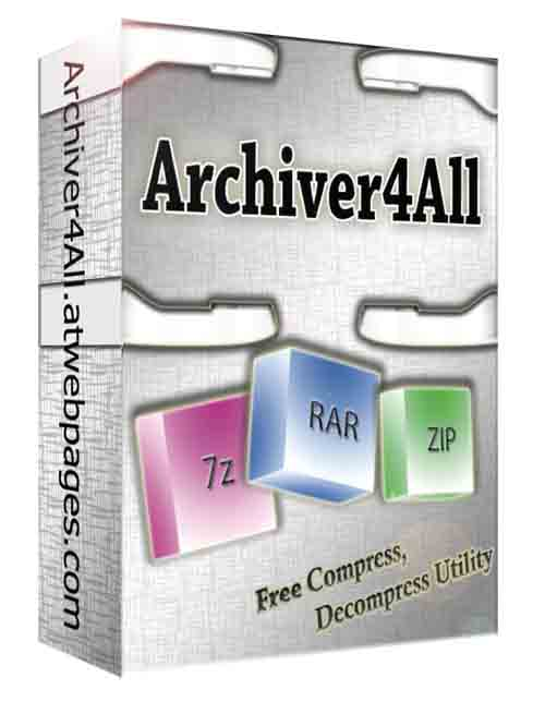 Archiver4All Activation Key Screen shot