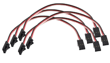Phidget Cables 15cm (set of 5) - Image