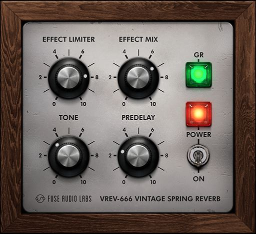 Fuse Audio Labs releases the FREE VREV-666 Spring Reverb