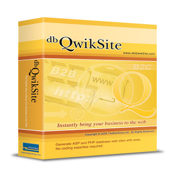Click to view dbQwikSite Pro screenshots